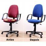 Manutenção de cadeiras de escritorio