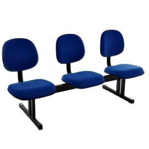 Cadeiras longarina para escritorio