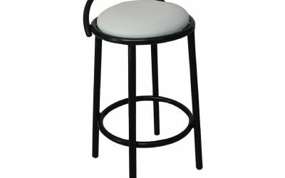 Banqueta Caixa Branca - Cod.: CF022B